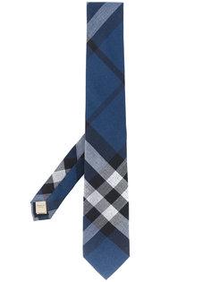 клетчатый галстук современного кроя Burberry