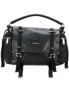 дорожная сумка с пряжками  Dsquared2