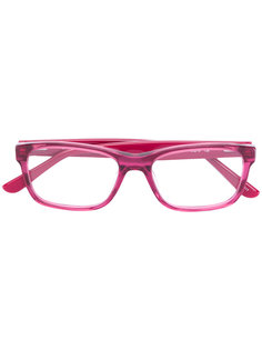 square shaped glasses Lacoste