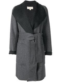 пальто с поясом  Michael Michael Kors