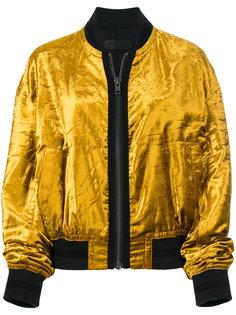 куртка-бомбер с мятым эффектом  Haider Ackermann