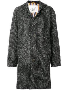 пальто свободного кроя с длинными рукавами Ermanno Gallamini
