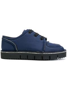 кроссовки с необработанными краями Marni