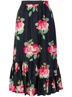 юбка с цветочным принтом Manoush