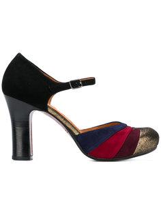 туфли дизайна колор-блок Chie Mihara