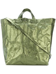crushed tote bag Zilla
