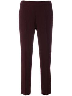 укороченные брюки с эластичной талией Alberto Biani