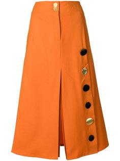юбка с пуговицами  Eudon Choi