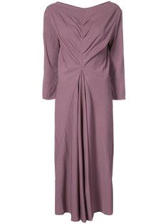 платье со сборками Lemaire