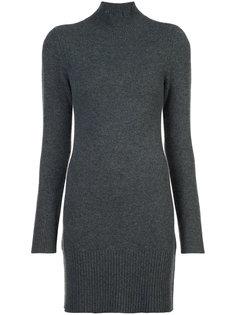 платье-свитер с отворотной горловиной Frame Denim
