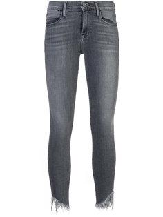 джинсы скинни с бахромой Frame Denim
