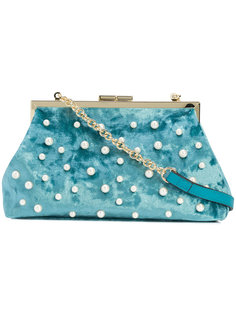 сумка через плечо с жемчужными деталями Christian Siriano