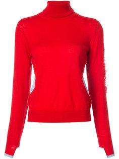 пуловер с отворотной горловиной  Barrie