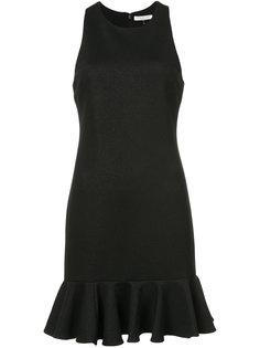 платье  с баской Halston Heritage