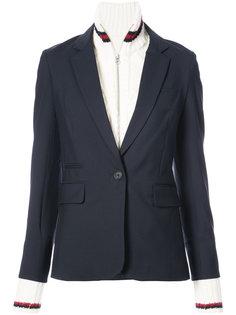 classic fitted blazer Veronica Beard