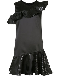 платье с оборками Nha Khanh