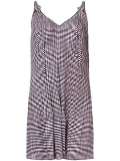 checkered cami dress Adam Selman