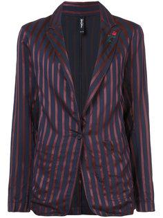 striped blazer Adam Selman
