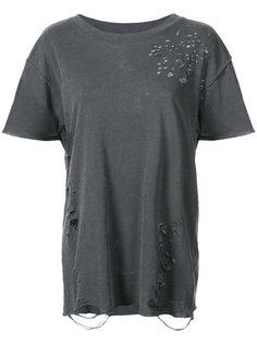 футболка с потертой отделкой NSF