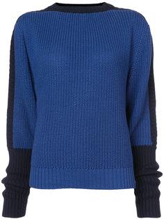 contrast sleeve jumper Preen By Thornton Bregazzi