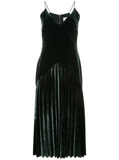 бархатное платье Dion Lee
