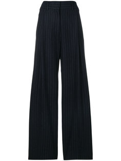 широкие брюки в полоску Alberto Biani