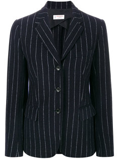 пиджак в тонкую полоску Alberto Biani