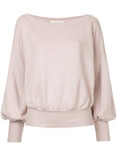 свитер с узкими манжетами Estnation