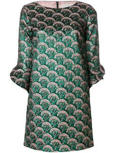 платье металлик с вышивкой  LAutre Chose