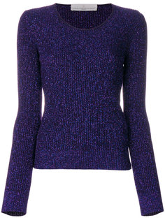 glitter-effect fitted sweater Golden Goose Deluxe Brand