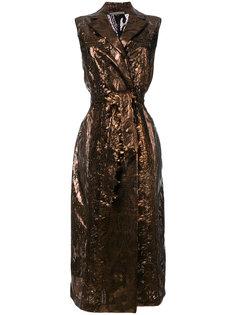 платье с запахом Marco De Vincenzo