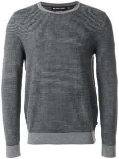 свитер с узором в ломаную клетку Michael Kors
