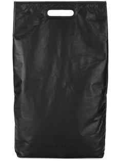 прямоугольная сумка-тоут Helmut Lang