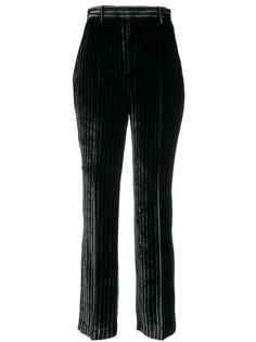 брюки в полоску с завышенной талией  Aalto