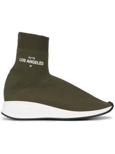 кроссовки с носочной вставкой Fly To Los Angeles Joshua Sanders