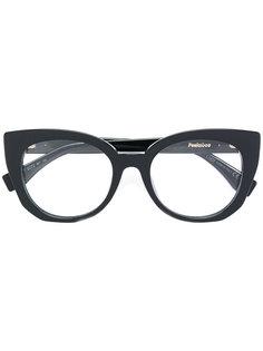 """очки в оправе """"кошачий глаз"""" Fendi Eyewear"""