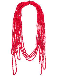 многослойный шарф Maria Calderara