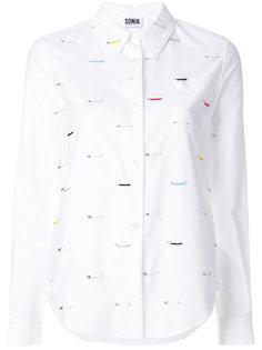 рубашка с английскими булавками Sonia By Sonia Rykiel