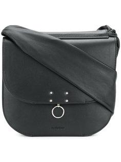 сумка на плечо с заклепками Jil Sander