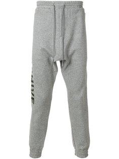 спортивные брюки с вышивкой Archive  Juun.J