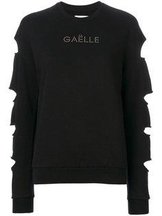 джемпер с длинными рукавами и вырезами  Gaelle Bonheur