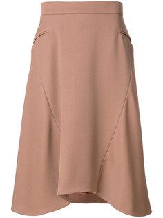 юбка с асимметричными панелями Nina Ricci