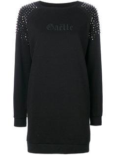 платье-футболка с заклепками  Gaelle Bonheur