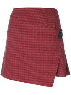 асимметричная мини-юбка Helmut Lang