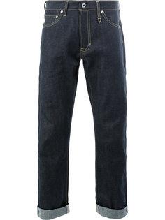 укороченные джинсы прямого кроя Fdmtl