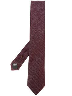 текстурированный галстук Canali