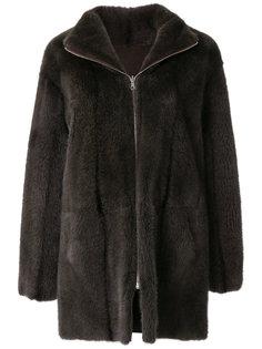 пальто на молнии Liska