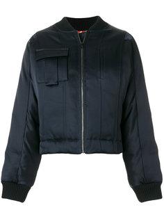 атласная куртка-бомбер  Dvf Diane Von Furstenberg