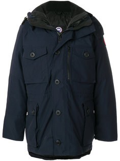 стеганое пальто с капюшоном Canada Goose