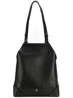 сумка на плечо с бляшкой с логотипом Manu Atelier